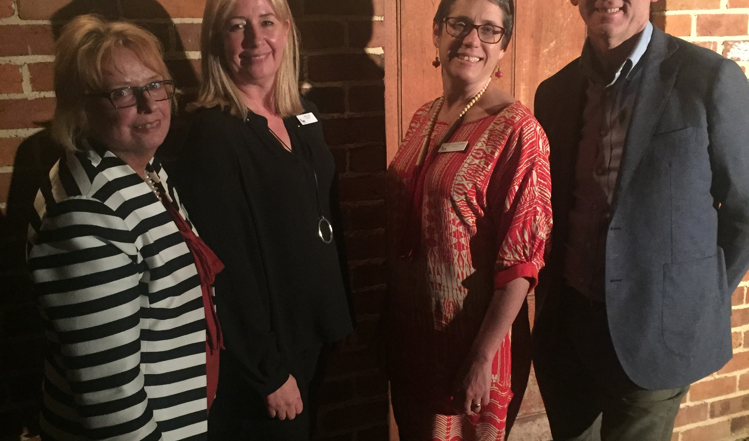 L to R: WRI CEO Kathy Woolley with WRI Chair Juliet Duffy, Treasurer Jo-Anne Strader and Mayor of Blayney Shire Scott Ferguson.