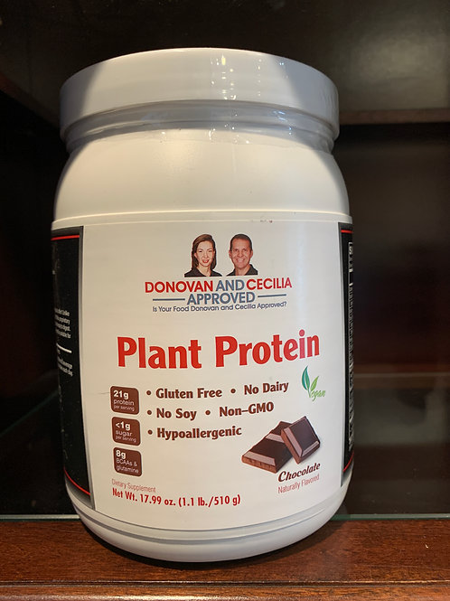Chocolate Plant Protein 12 ounce by DCA