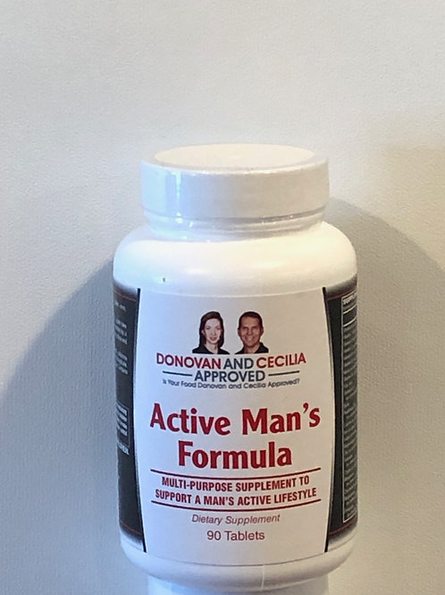 Active Mans Multivitamin 90 count by DCA