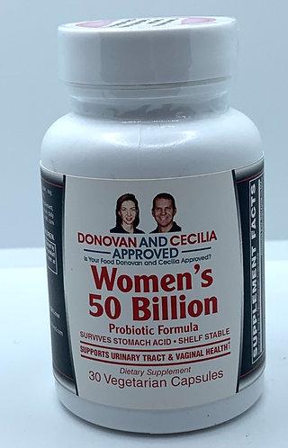 Womens Probiotic 50 Billion