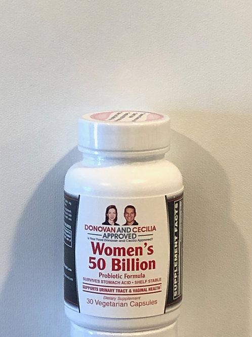 Women's 50 Billion Probiotic Formula by DCA