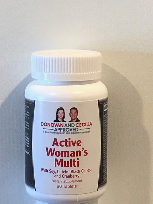 Active Woman's Multivitamin 90 count by DCA
