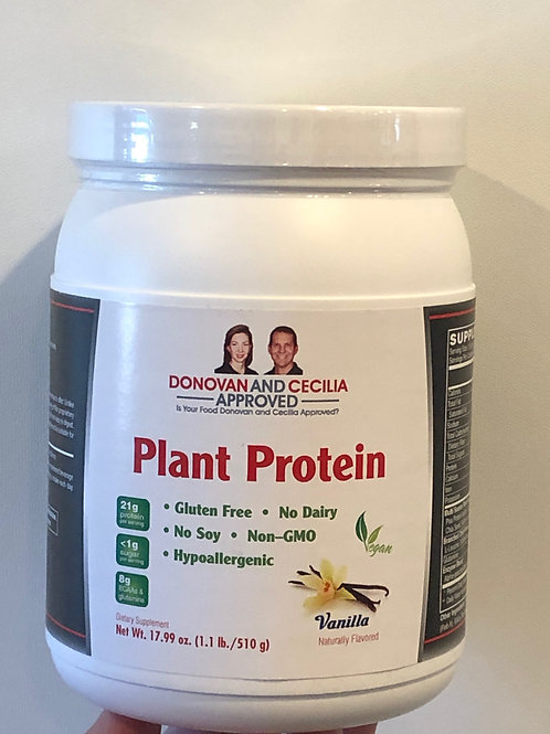 Vanilla Plant Protein 12 ounce by DCA