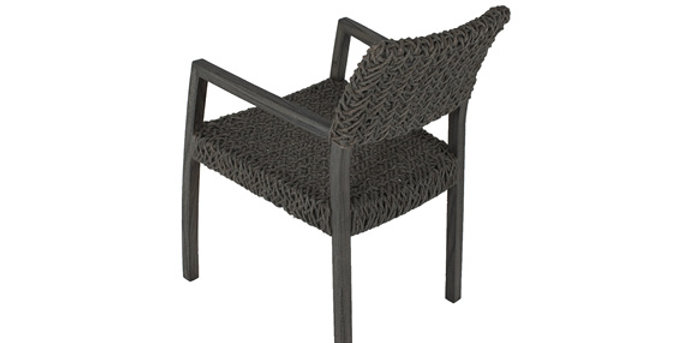 Peninsula Arm Chair Rope
