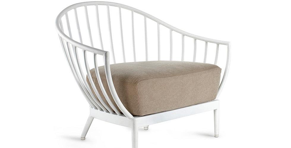 Yucca Lounge Chair Aluminium