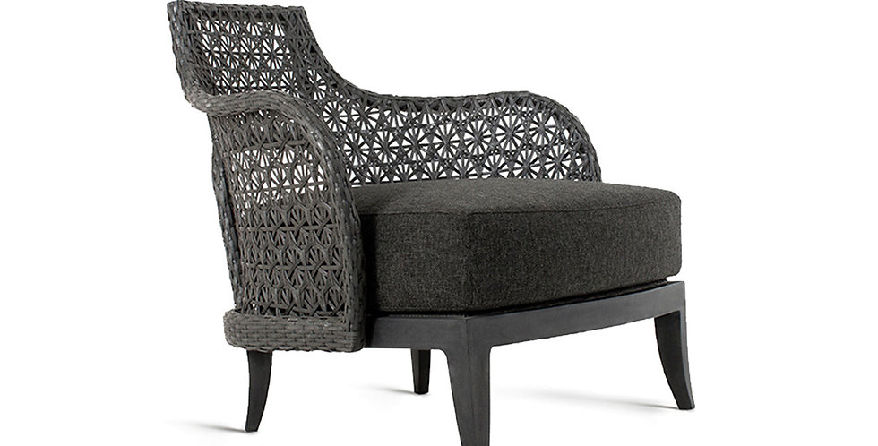 Wolfe Lounge Chair Aluminium