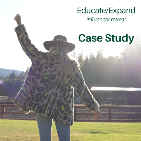 Click for influencer event case study