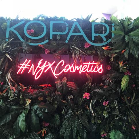 Kopari: influencer marketing events