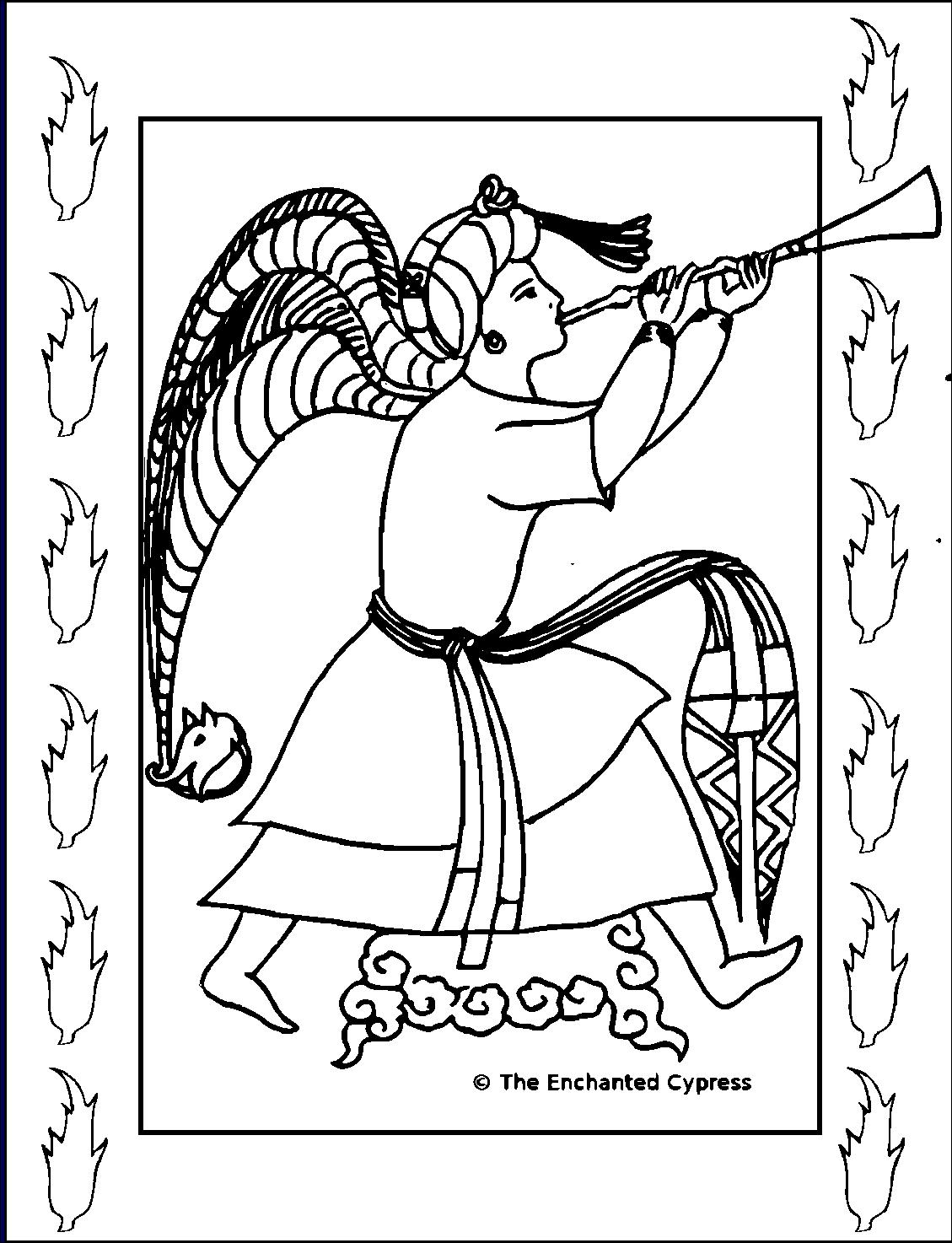 A COLORIER Ange