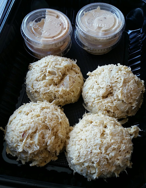 Ready-to-Cook Crab Cakes