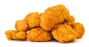 image of the fried Popcorn chicken is a