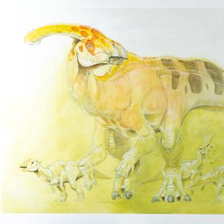 Parasaurolophus Family