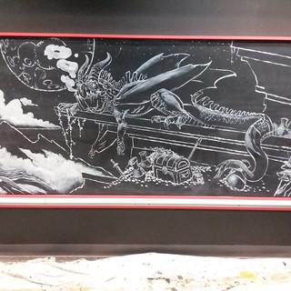 Chalk Dragon