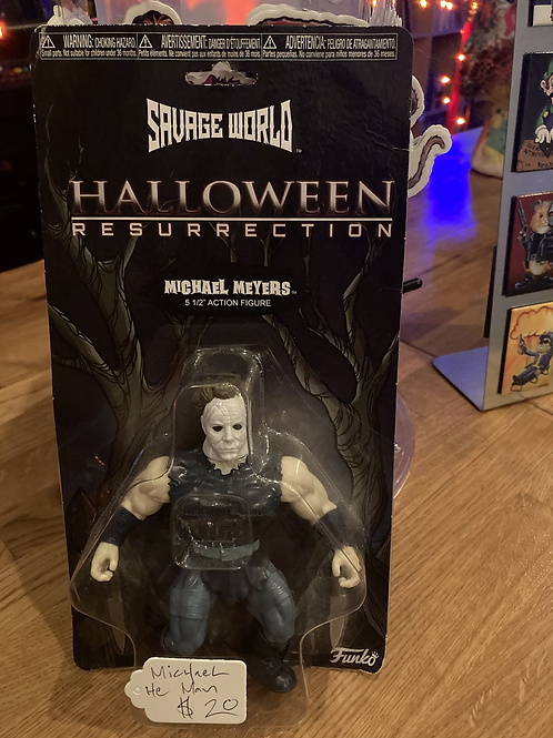 Michael Meyers Savage World Action Figure