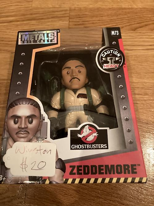 Winston Zeddemore Ghostbusters Metal Die Cast Figure