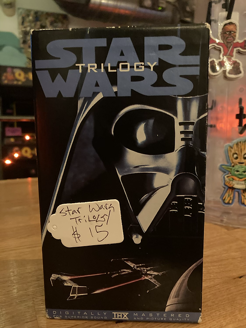 Star Wars Trilogy VHS Great Condition