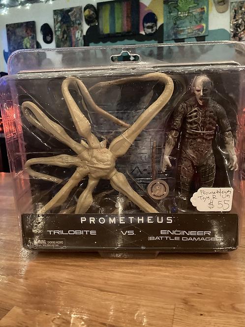 Prometheus Trilobite VS Engineer Action Figure