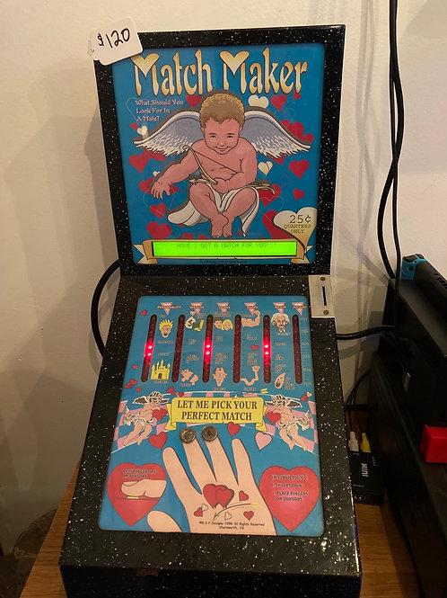 Match Maker Quarter Operated Love Machine