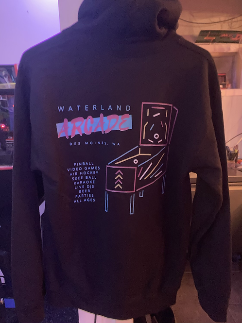 Waterland Arcade New School Double Sided Hoodie