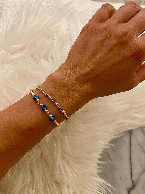 Gold Sphinx Goldstone Bracelet