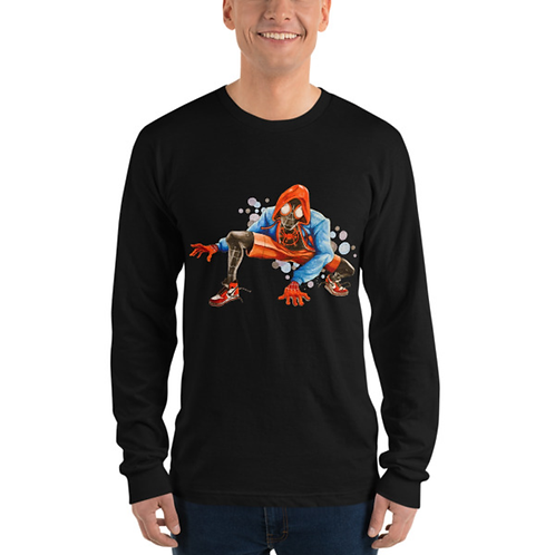 Spider Man - Miles Morales Long Sleeve T-Shirt
