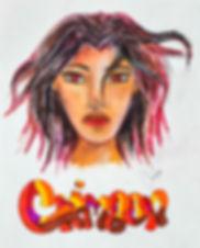 Concept art - Main character Crimson Cresent Moon