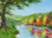 Landscape - 9 x 12 oil on canvas