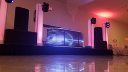 Wedding Package with LED Facade