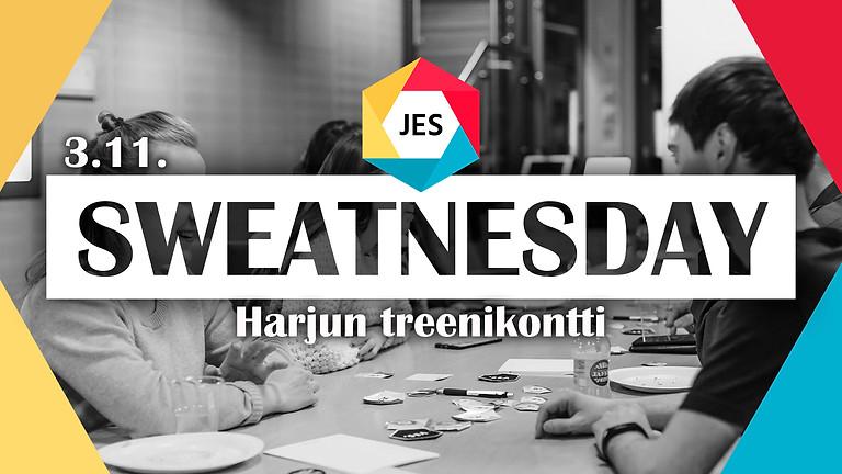 JES Sweatnesday x Harjun treenikontti