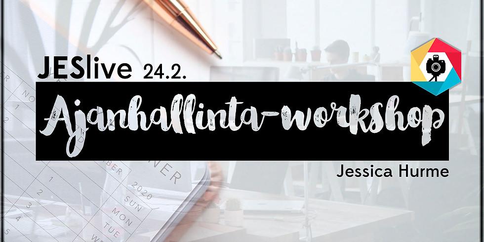 JESlive x Ajanhallinta –workshop
