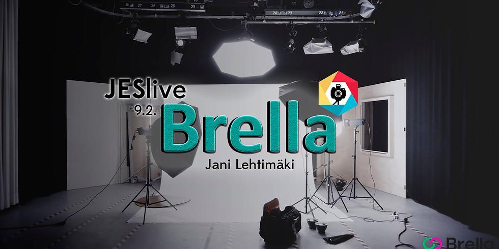 JESlive x Brella