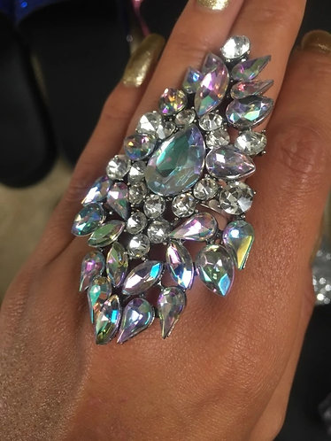 XL Crystal Statement Ring