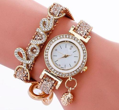 Love wrap watch/bracelet