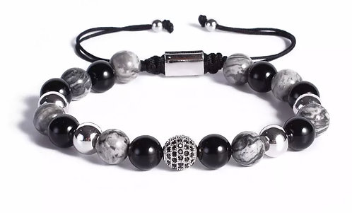 Natural Stone Macrame bracelet