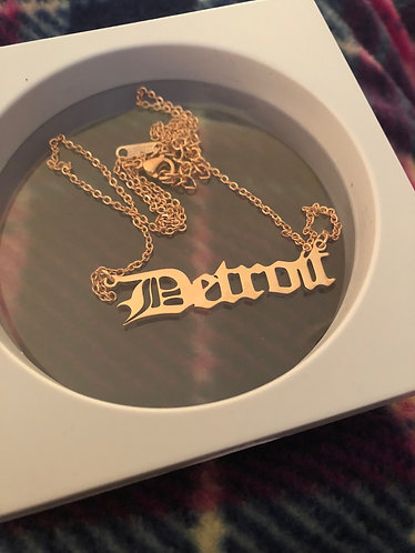 Rep Yo City - Detroit