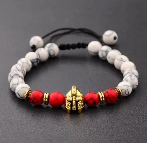 Gladiator Chakra Bead Bracelet