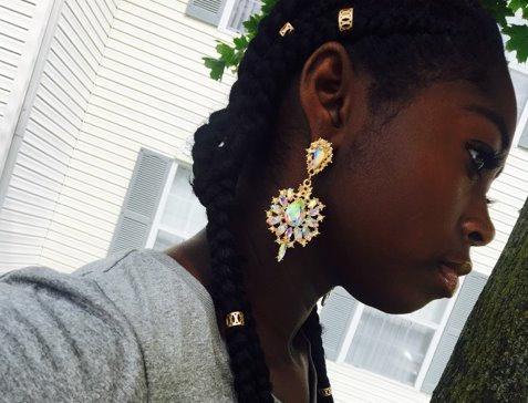 Classy Rhinestone Earrings