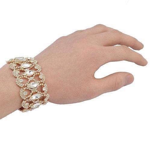 Rhinestone Queen Bracelet