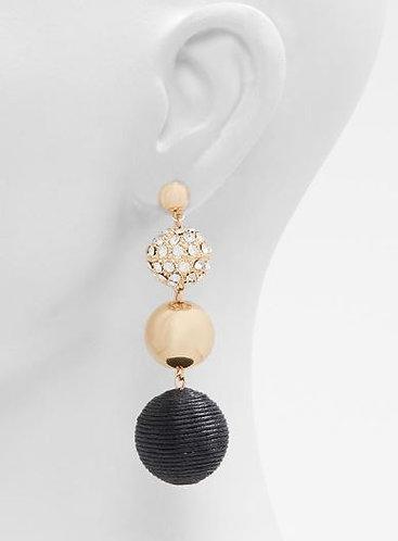 Bubble drop earrings
