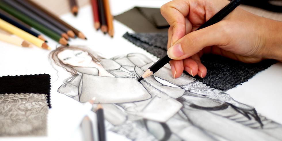 Fashion иллюстрация для начинающих