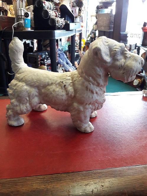 Heavy cast iron White Terrier