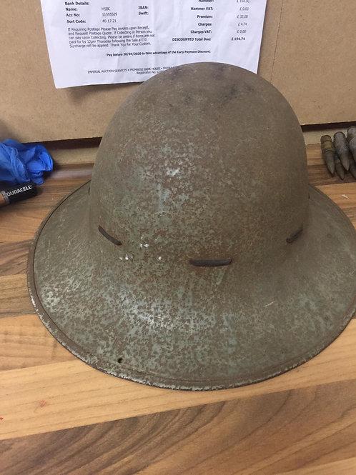 British home defence helmets