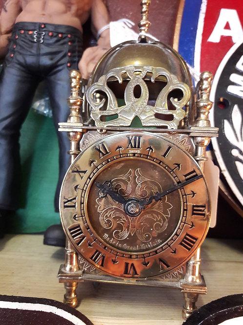 Electric Brass Lantern Clock