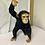 Thumbnail: Life size Fiberglass hanging chimp