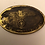 Thumbnail: German  SS brass oval ID tag