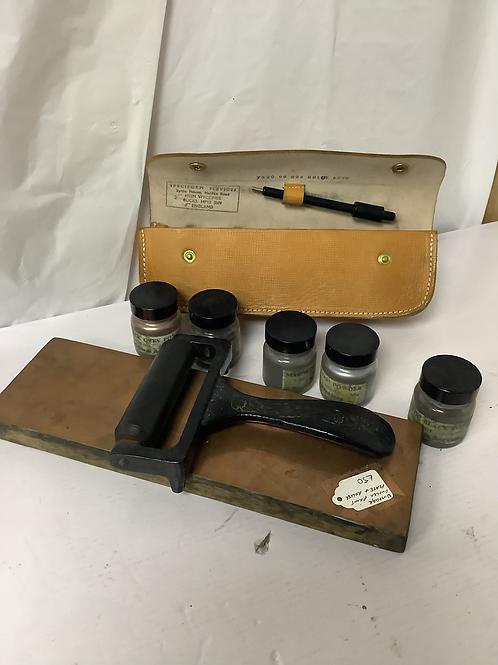 Antique finger printing kit