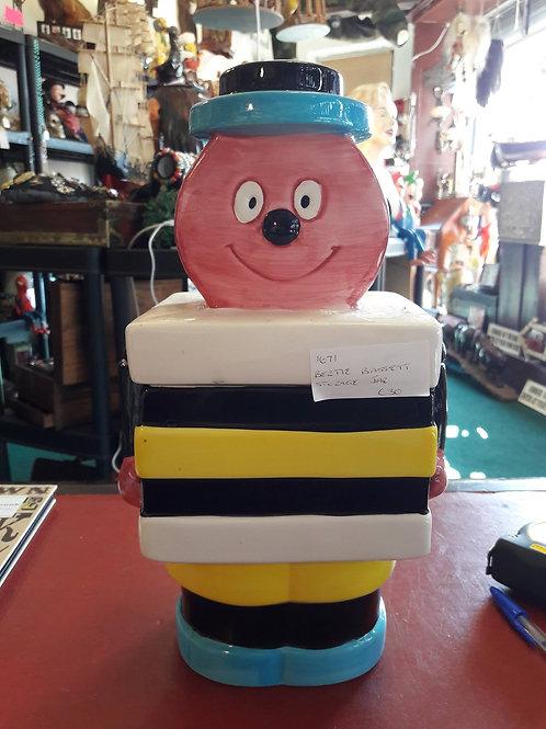 Berttie Bassett storage jar.