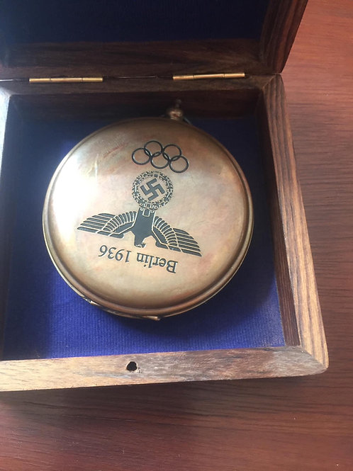 Berlin 1936 olympics compass and box
