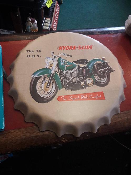 Motorbike Bottle top wall mounts