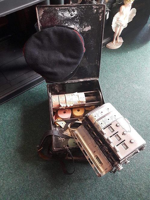 Vintage Bus Conductor Ticket Machine